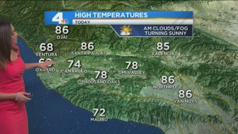 AM Forecast: Relief From Heat