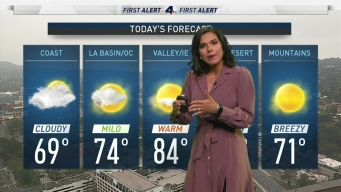 AM Forecast: June Gloom in Full Swing
