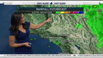 AM Forecast: Scattered Showers in Morning Commute