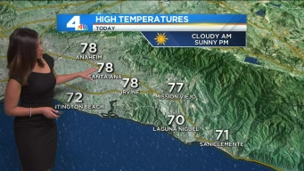 AM Forecast: Sunny Afternoon