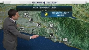 AM Forecast: The Warm Weekend Continues