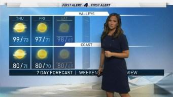 AM Forecast: Unrelenting Summer Heat