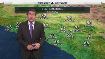 [LA] AM Forecast: Warm Day With Slight Cooling