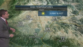 AM Forecast: Warm Temps With Light Winds