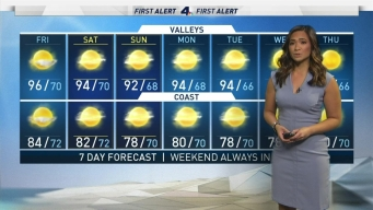 AM Forecast: Weekend Weather
