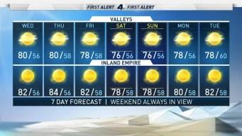 AM Forecast: Warm Wednesday Ahead