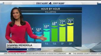 AM Forecast: Wind Advisory in Effect Until Noon