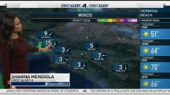 AM Forecast: Offshore Winds Will Warm SoCal