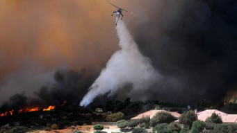 1,500 Homes Evacuated in Cajon Pass Fire