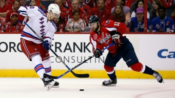 Rangers Hold Off Capitals 4-3 to Force Game 7