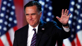 Mitt Romney Spends Inauguration Day in Calif.