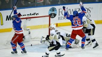 2015 NHL Playoffs: Rangers Advance on Hagelin's OT Goal, 2-1