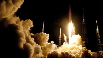 SpaceX Aborts Launch Seconds Before Liftoff