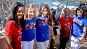 Olympic Gold-Medal 'Final Five' Visit NYC Ahead of US Tour