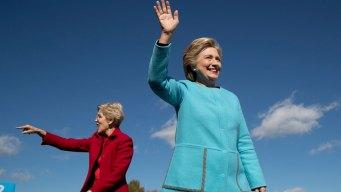 Warren Says 'Nasty Women' Will Vote for Clinton