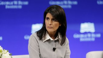 Trump Accusers 'Should Be Heard': Ambassador Nikki Haley