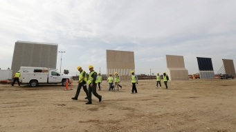 Trump's Border Wall Models Take Shape in San Diego