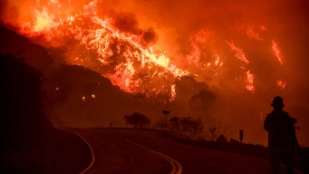 Dry Winds to Persist in SoCal's Fire Areas