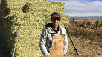 Hay Day: This Rancher Makes Olympic Downhill's 'Hero Snow'