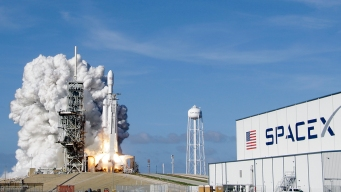 SpaceX Launches Communications Satellite, Radio Antenna