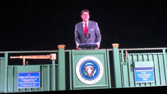 Ronald Reagan Hits the Campaign Trail in 2018, as a Hologram