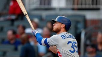 Bellinger Hits 41st Homer, Dodgers Beat Braves 8-3