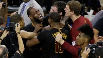 Cavaliers Win NBA Finals, Beating Warriors 93-89