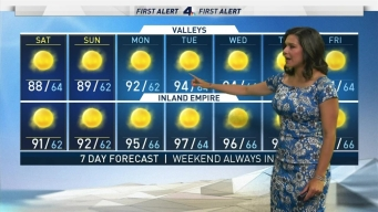 First Alert Forecast: Cooler Temperatures Ahead