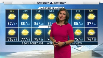 First Alert Forecast: Heat Continues