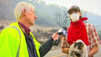A Community Comes Together to Battle SoCal Fires