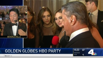 After the Golden Globes, It's Party Time