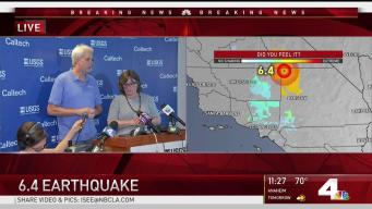 Aftershocks Expected After 6.4 Quake
