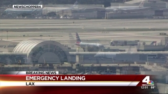 American Airlines Flight Diverted to LAX