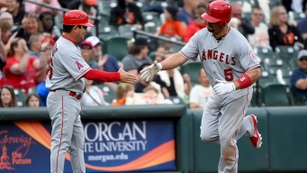 Angels Beat Orioles Behind Pujols' 2 Home Runs