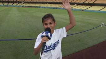 Anthem Girl Madison Baez Belts Out a Game 2 Preview
