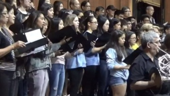 Arcadia High School Choir Inspired by Artistic Director