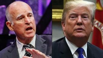 'Dear President Trump': Gov. Brown's Invite to the President