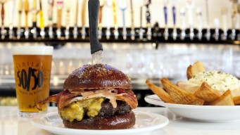 Want Burger with Your Bacon?