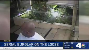 Burglar Sought in West Los Angeles