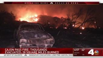 Cajon Pass Fire: Morning Update in Phelan