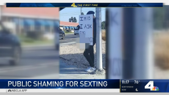 Photo Shows Teen Being Publicly Shamed for Sexting