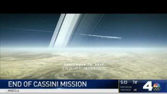 Cassini Probe's Mission to Saturn Comes to an End
