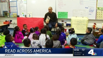 Stars Read to Elementary Students on Dr. Seuss' Birthday