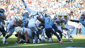 Chargers Fumble on Goal Line Late, Lose to Titans 23-20