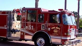 Forward Rate of Spread Stopped in Chula Vista Brush Fire