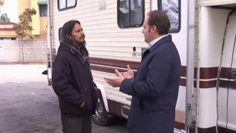 Church Opens Lot to People Sleeping in RVs
