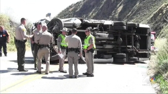 Church Trip Ends After Bus Rollover Crash