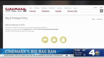 Cinemark Bans Large Bags in Theaters