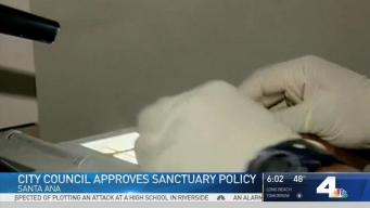 City Council Approves Sanctuary Policy in Santa Ana