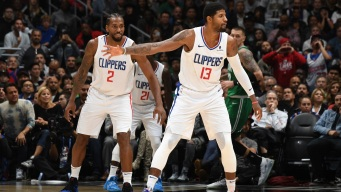 Kawhi, PG13 Finally Play Together, Clippers Edge Celtics in OT Thriller